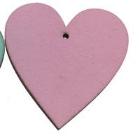 Pink Wooden Heart [+€2,00]